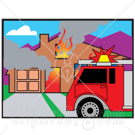 450x450 Best Photos Of Burning Building Clip Art