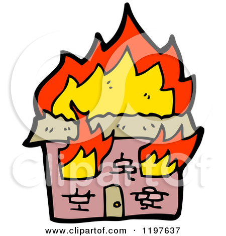 450x470 Building On Fire Clip Art Cliparts