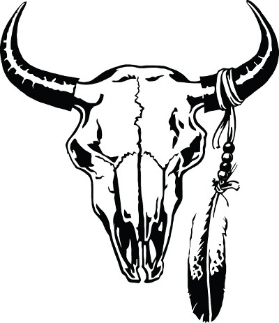 400x463 Bull Skull Pictures
