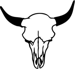 300x276 Bull Clipart Longhorn Skull