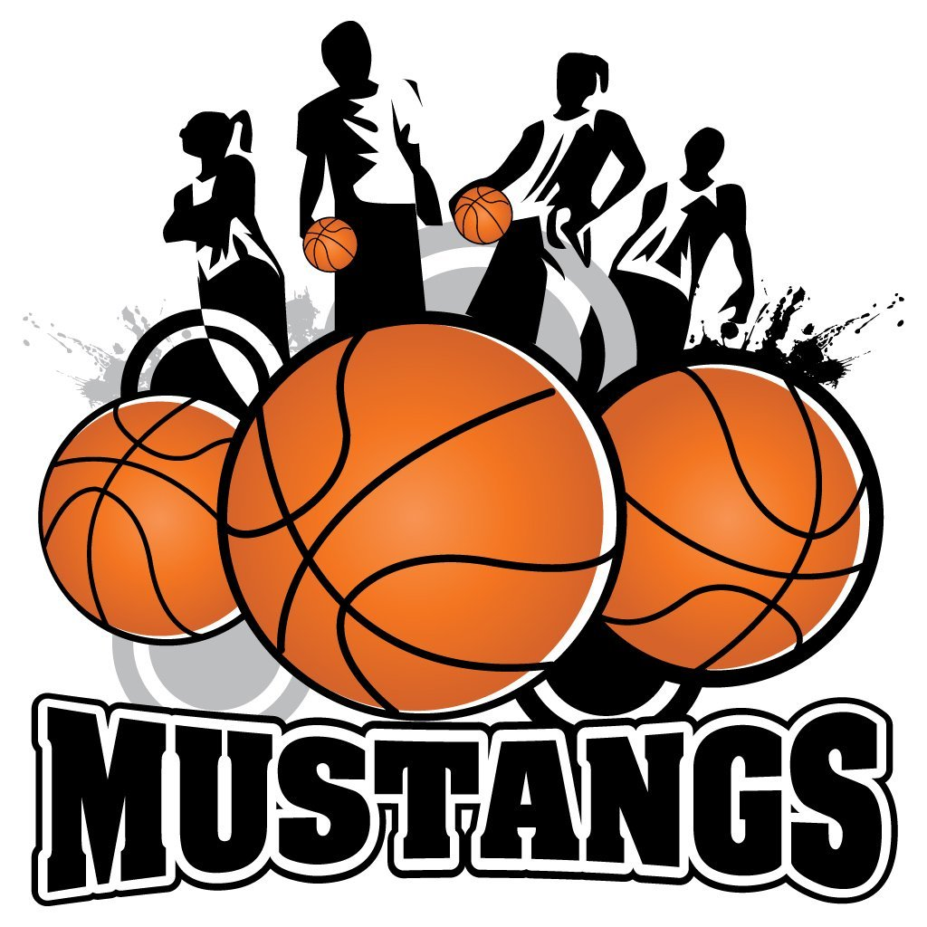 1024x1024 Set Of 15 Mustangs Mascot Basketball Team Towels