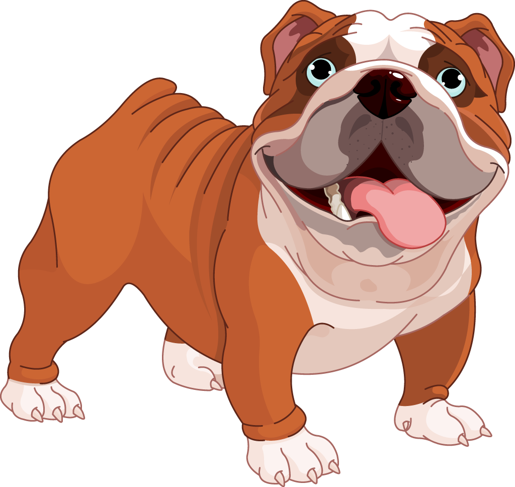 1024x968 Bulldog Clipart Cute