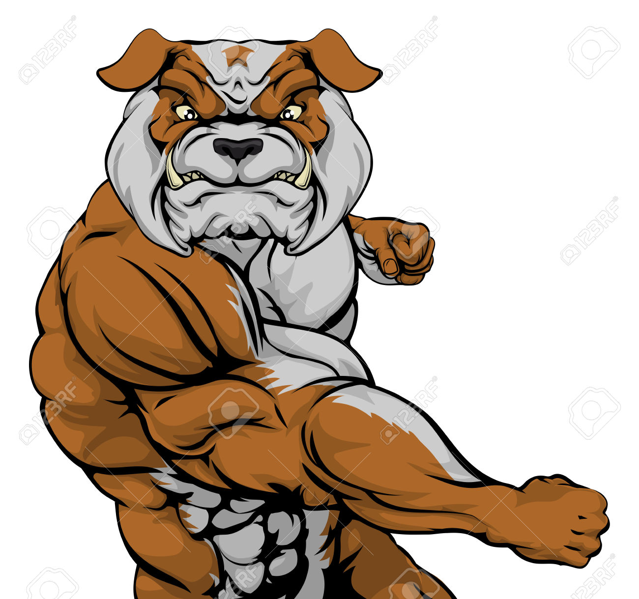 1300x1219 Bulldog Clipart Tough