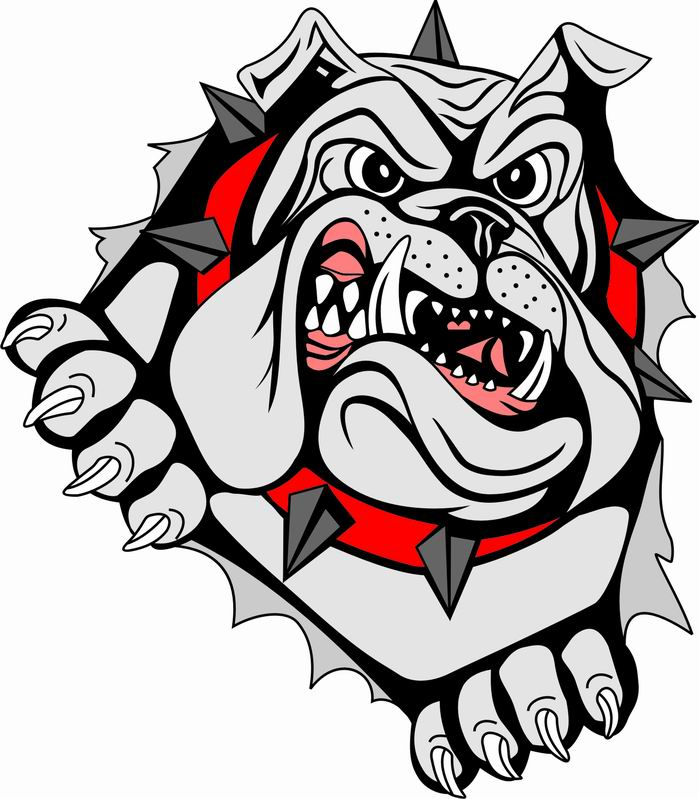 699x799 Georgia Bulldog Clipart