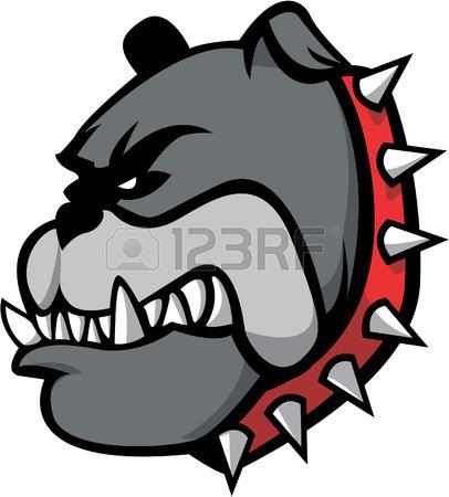 406x450 bulldog clip art