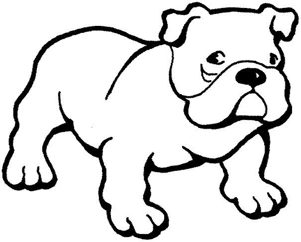 605x486 Bulldog Clipart Uga