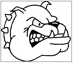 308x265 Bulldog Clipart Black And White Free Clipart Images