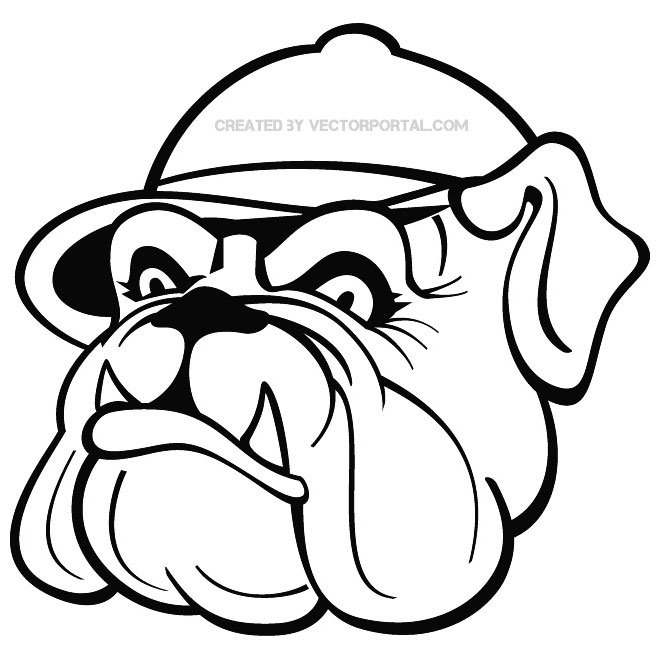660x660 17 Free Bulldog Clipart Vectors Download Free Vector Art