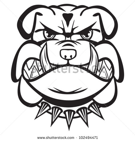 450x470 Angry Bulldog Clipart, Explore Pictures
