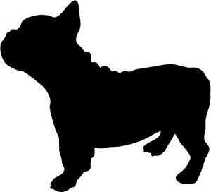 300x272 Clipart French Bulldog