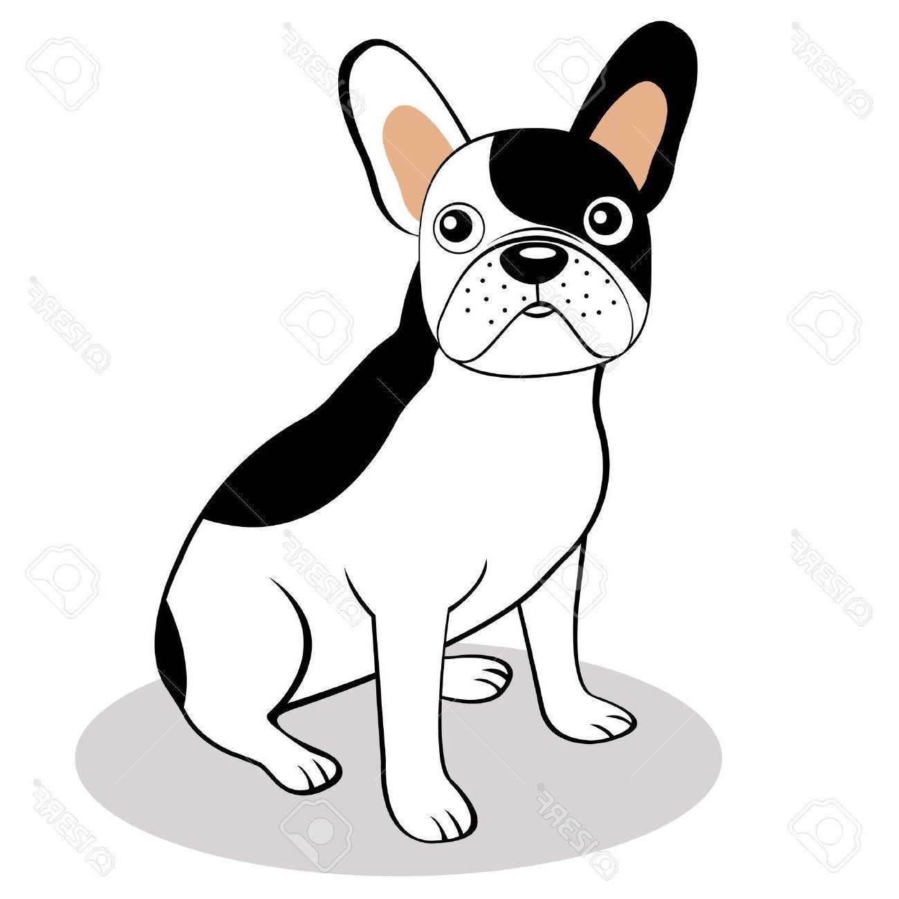 1300x1300 Best Hd French Bulldog Clip Art Vector File Free Free Vector Art