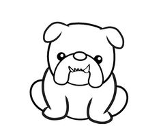 236x203 Bulldog Clipart Simple