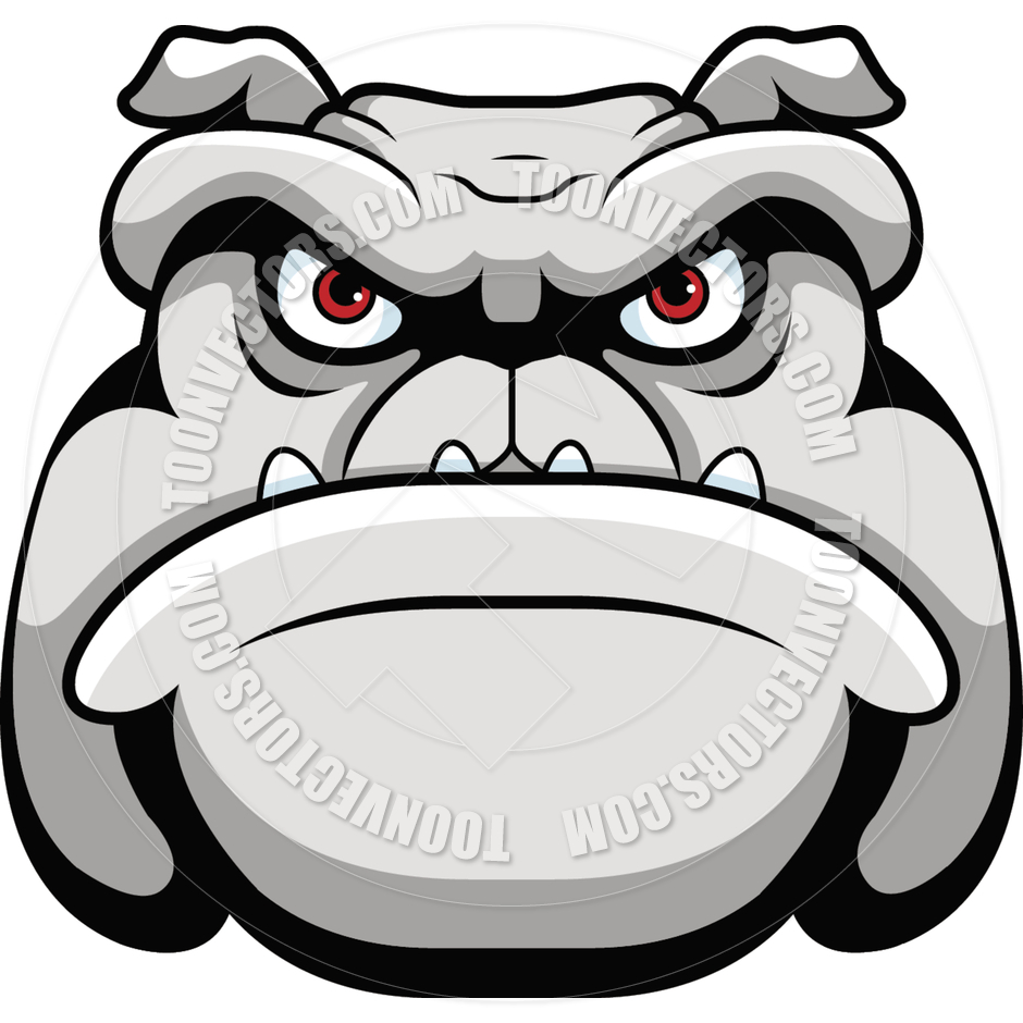 940x940 Bulldog Face By Cory Thoman Toon Vectors Eps