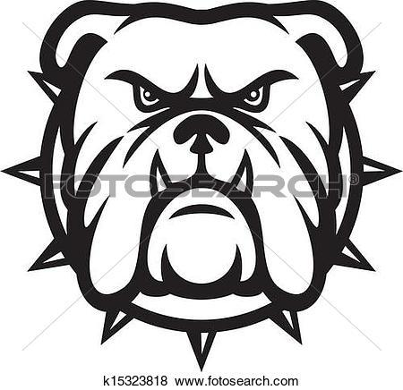 450x436 Bulldog Clipart Bulldog Head