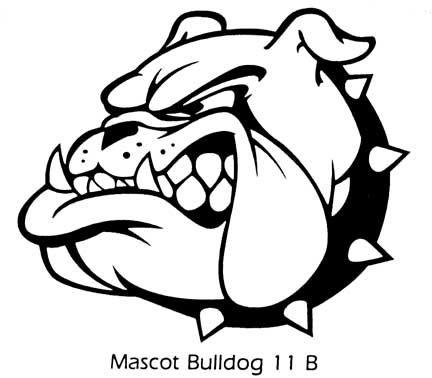 432x378 English Bulldog Clipart Bulldog Head