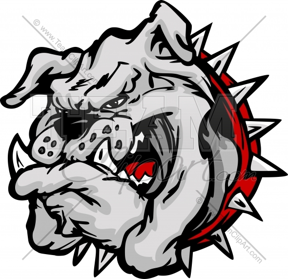 590x571 Bulldog Clipart Clipart Cartoon Image. Easy To Edit Vector Format.