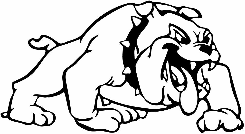 1006x550 Bulldog Mascot Clipart