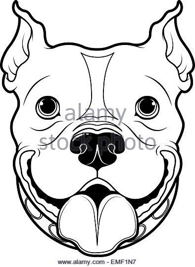 394x540 Line Drawing Bulldog Stock Photos Amp Line Drawing Bulldog Stock
