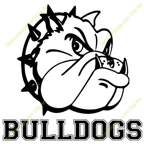 500x500 Free Bulldog Basketball Clipart