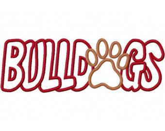 340x270 Bulldog Paw Mascot Clipart