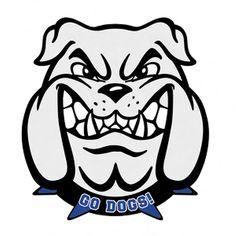 236x236 Bulldog Clipart Mascot