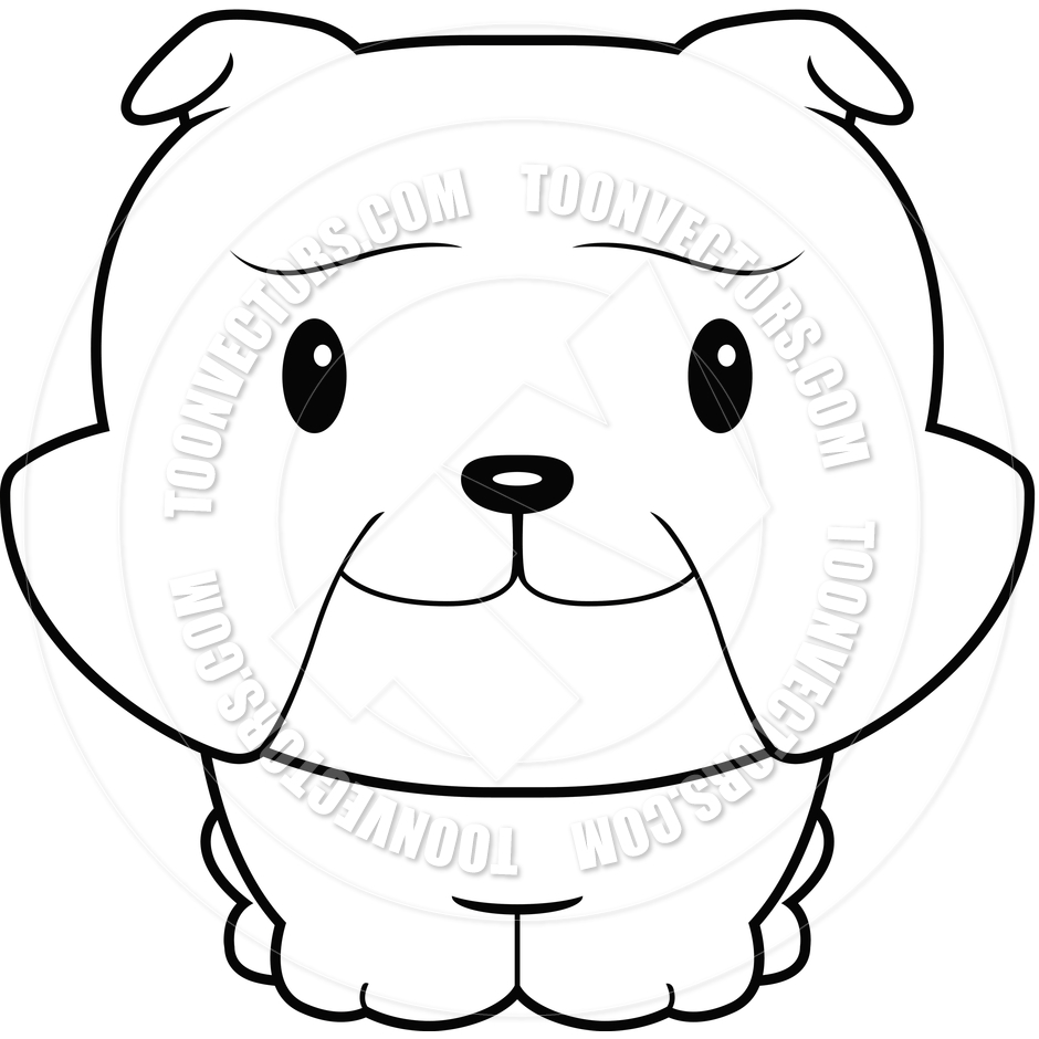 940x940 Bulldog Clipart Simple