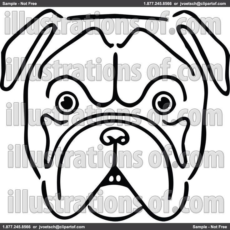 736x736 Die Besten Bulldog Clipart Ideen Auf Niedliche