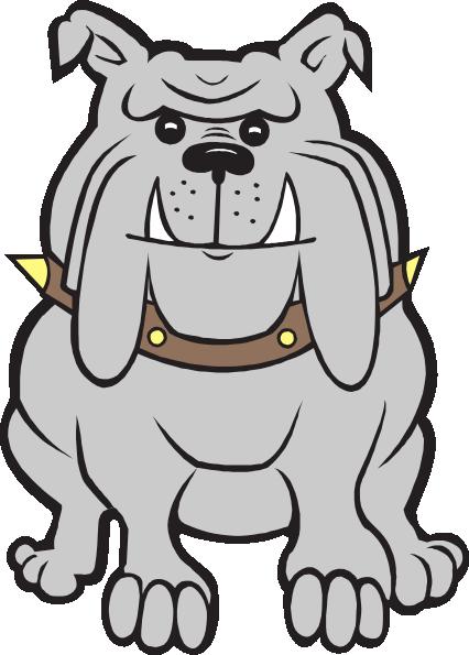 426x595 Head Bull Dog Clipart