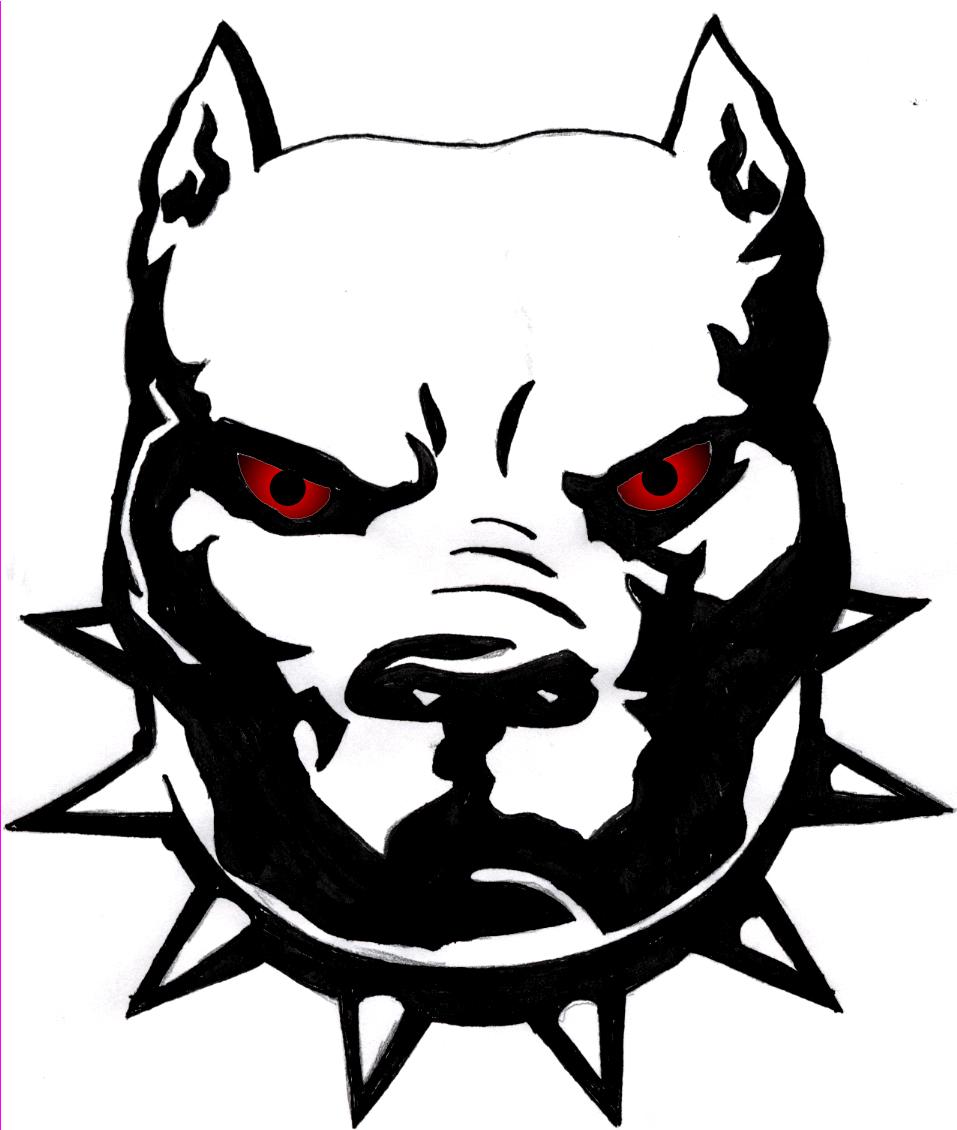 957x1130 Pit Bulldog Head Clipart