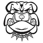 170x170 Bulldog Head Clip Art