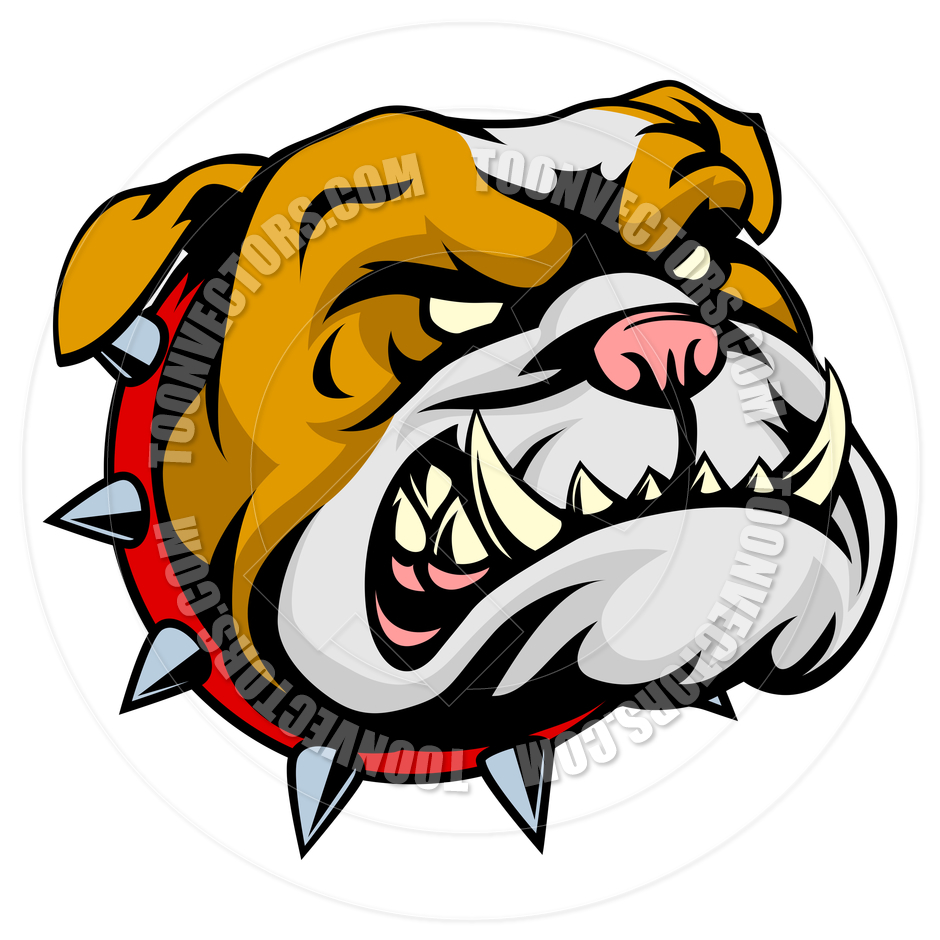 940x940 Bulldog Mascot By Geoimages Toon Vectors Eps