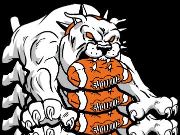 361x271 Bulldog Football Mascot Clipart Dromgfl Top