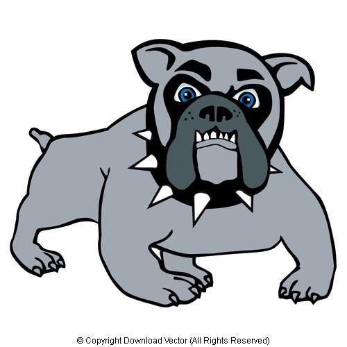 500x500 Bulldog Mascot Illustration On White Background 09994 Download