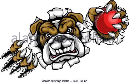 450x291 Illustration Of A Scary Bulldog Animal Sports Mascot Illustration