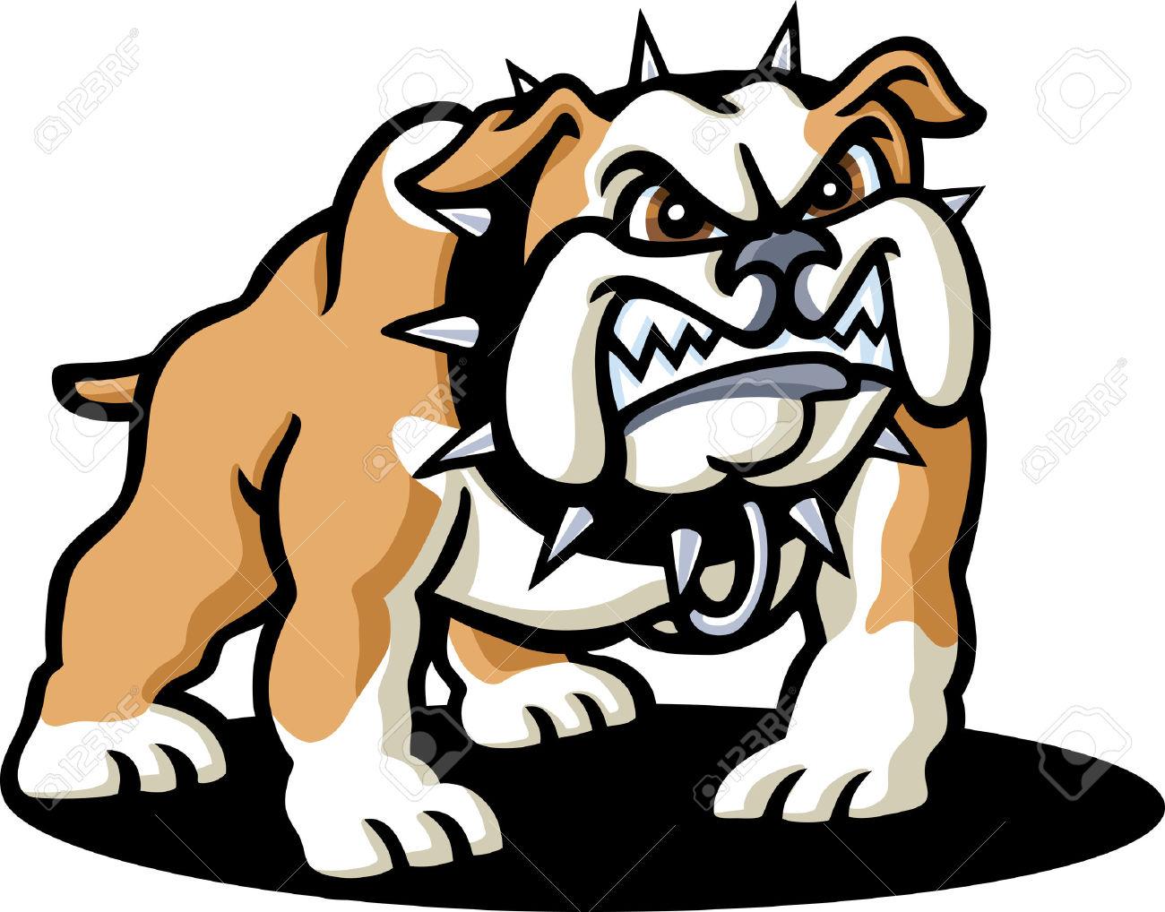 1300x1018 Scary Clipart Bulldog