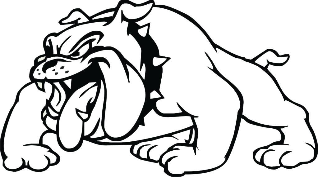 1023x571 Bulldog Mascot Clipart Strong Bulldog Mascot Champion Flexing