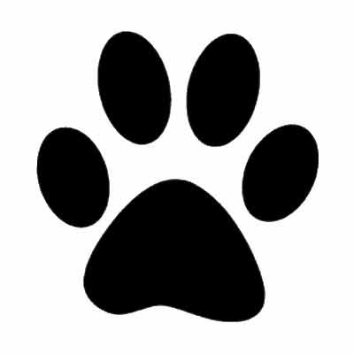 400x400 Best Photos Of Dog Paw Print Template