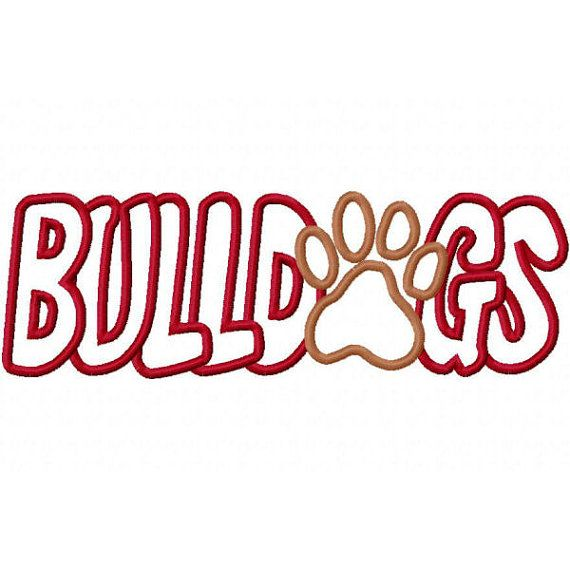 570x570 Bulldog Clipart Red