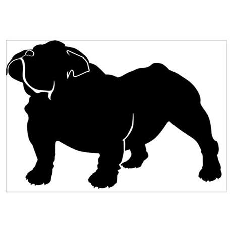 460x460 Bulldog Posters Cafepress