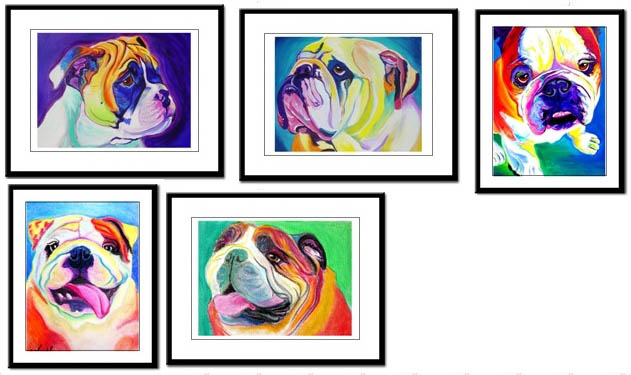 631x375 Bulldogs Dogbreed Bulldog Art Prints Amp Posters