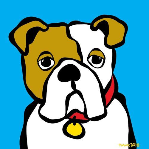 500x500 Prints Tagged Bulldog