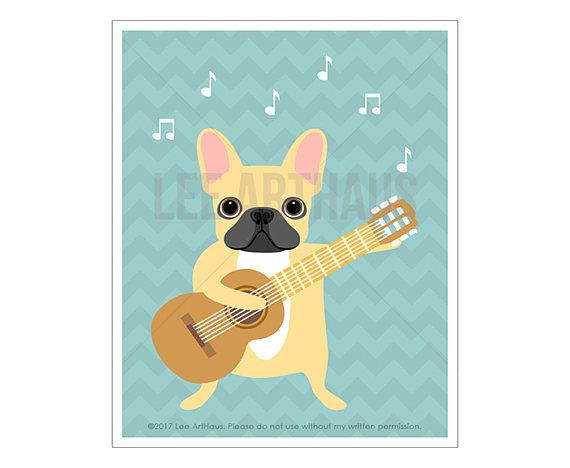 570x468 59 Best Lee Arthaus French Bulldog Prints Images