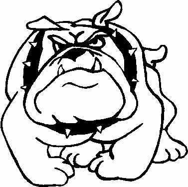 377x375 Bulldogs On School Supplies Clip Art And Schools