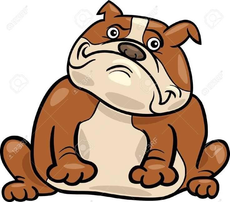 Bulldogs Cartoon Images