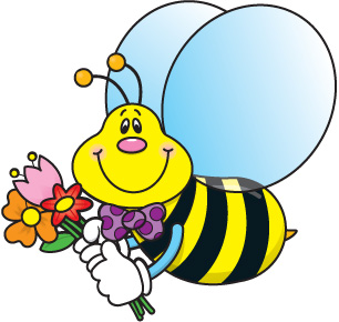 306x290 Bumble Bee Cute Bee Clip Art Love Bees Cartoon Clip Art More Clip