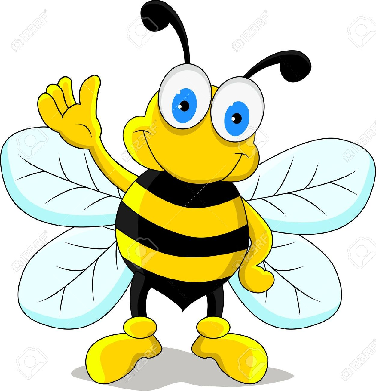 1251x1300 Free Printable Cartoon Bumble Bee Pictures 16 With Additional Free