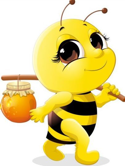 406x539 The Best Cartoon Bee Ideas Bumble Bee Cartoon