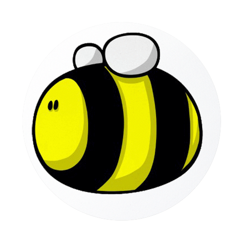 500x500 Bumble Bee Cartoon