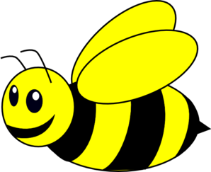298x243 Bumble Bee Yellow Clip Art