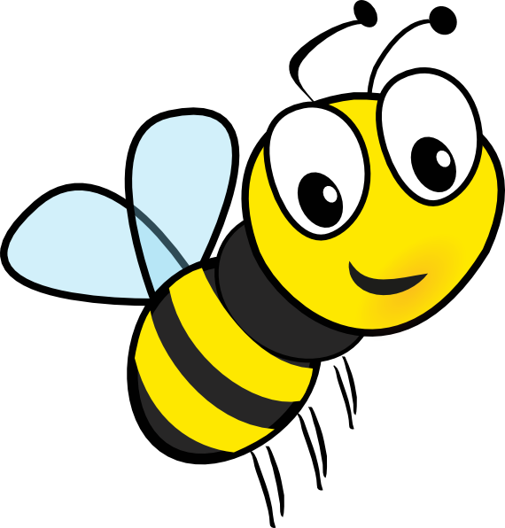 570x596 Bumble Bee Clip Art